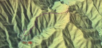 雲取山三条ルート(机上)鳥瞰図.jpg