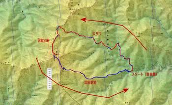 雲取山日原ルート(机上)平面図.jpg